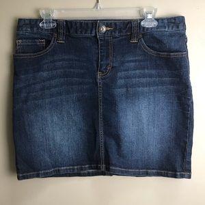 Tommy Hilfiger Jean Pencil Skirt Size 10